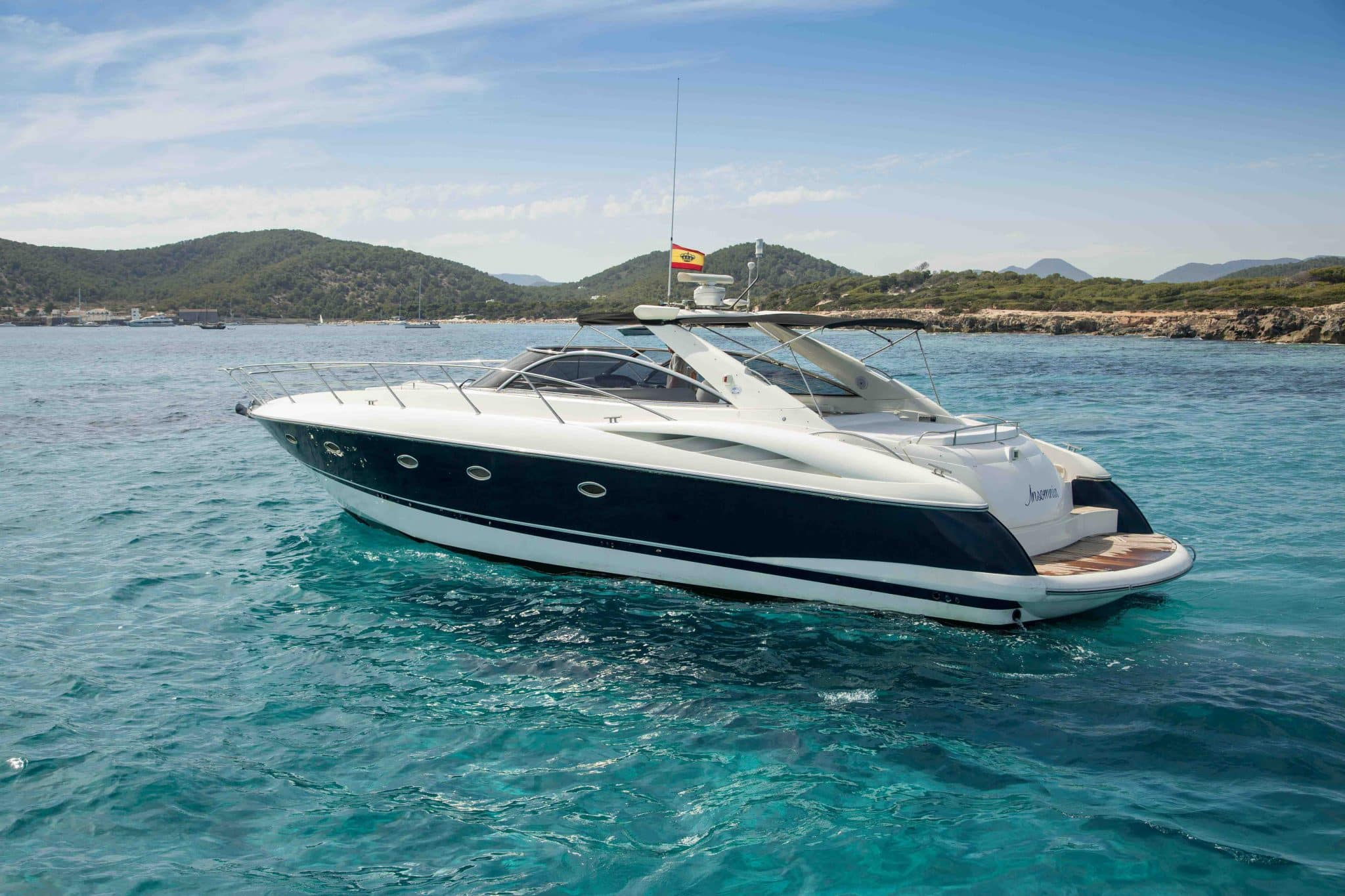 sunseeker camargue 50 ibiza boats u0026 yachts rental smart charter