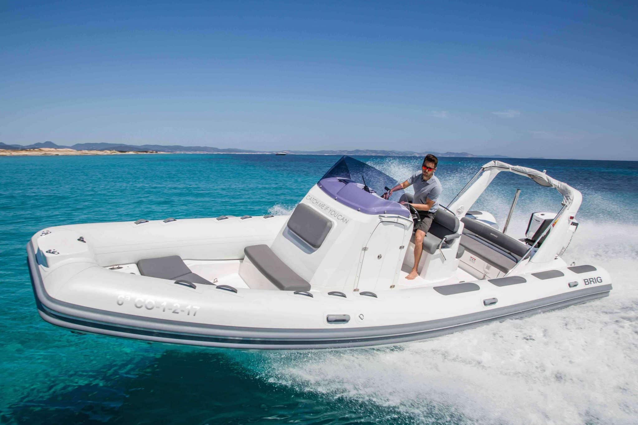 Brig 780 Ibiza speed