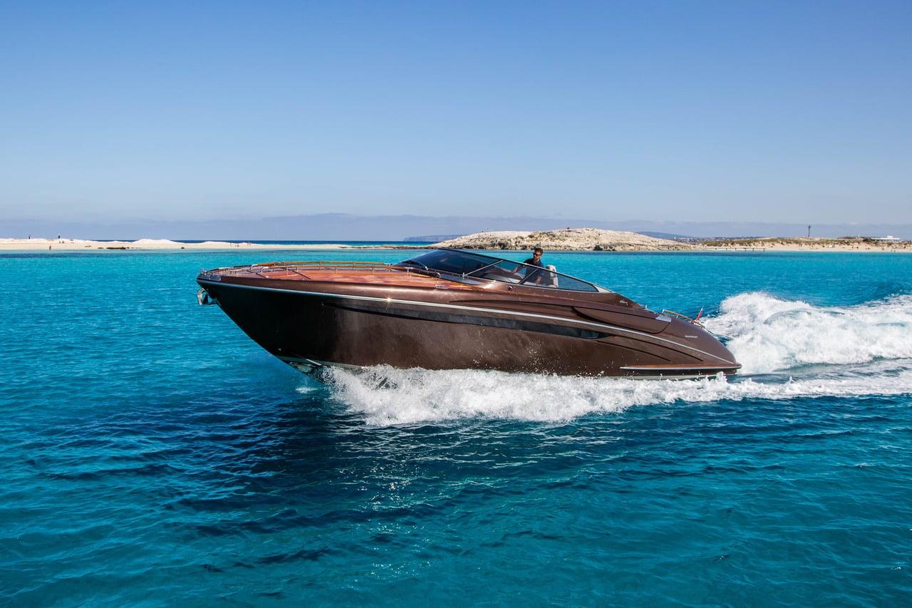 Riva Rivarama Ibiza cruising